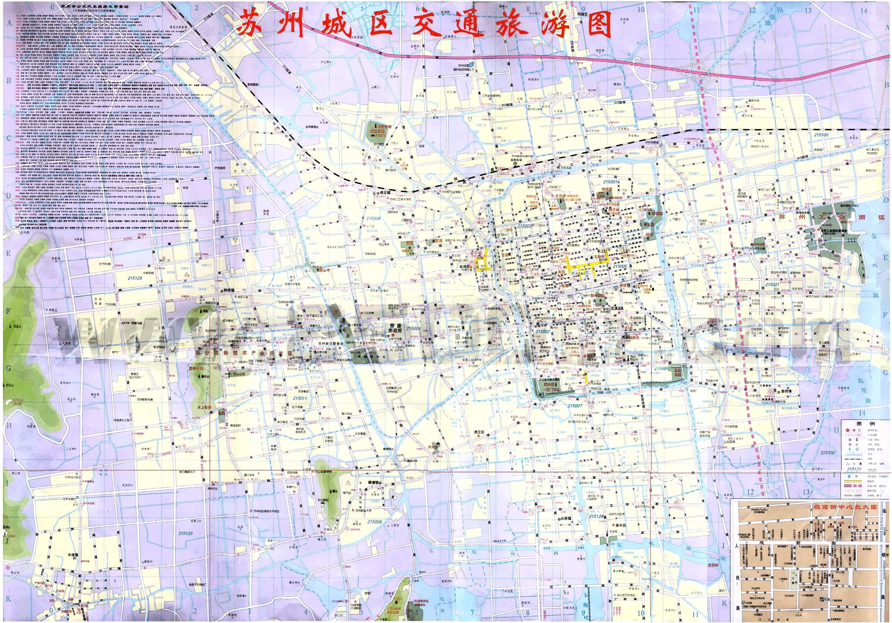 苏州城市地图|三山岛旅游网